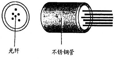 单层不锈钢管(光纤单元)结构